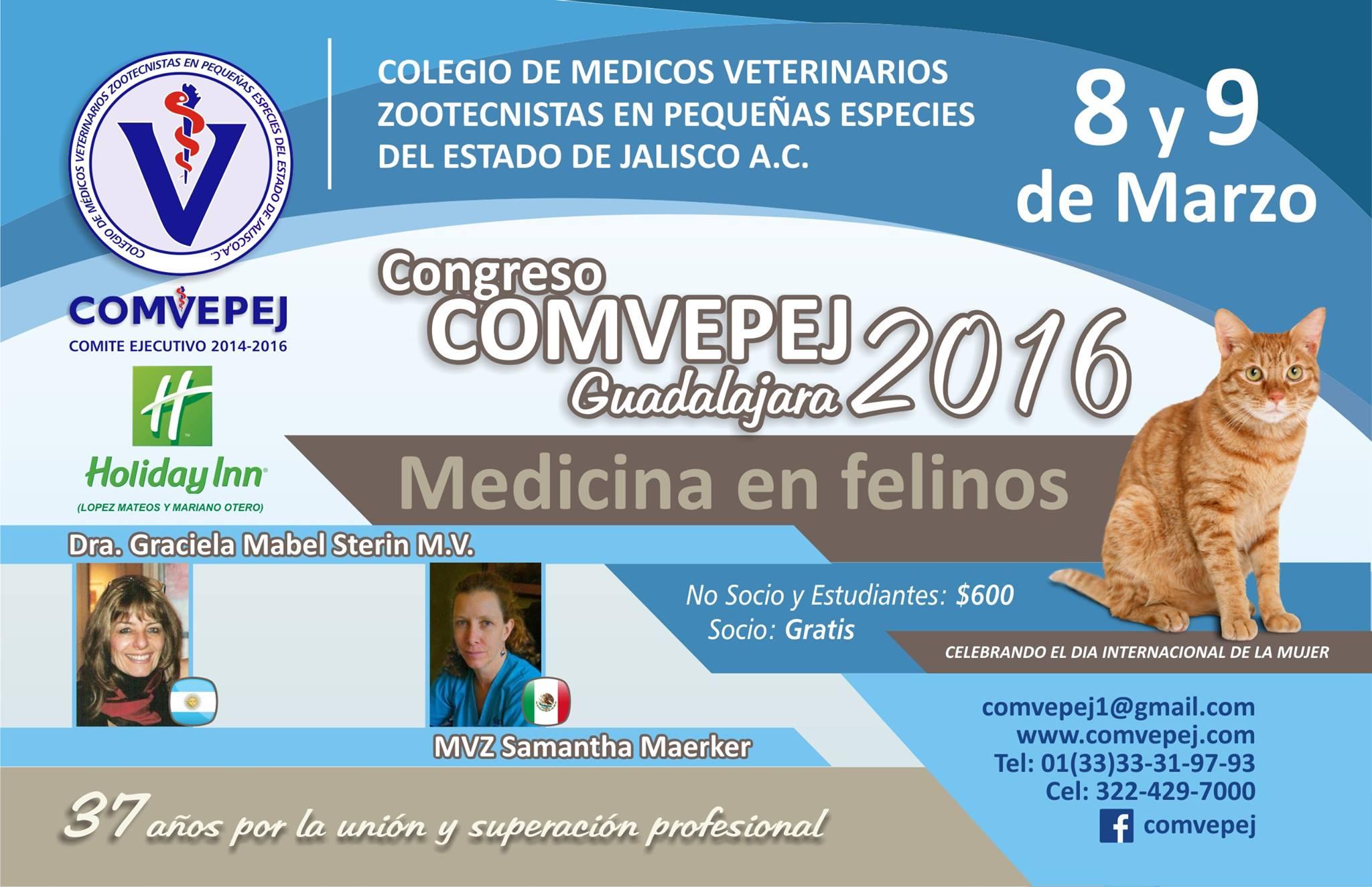 Congreso COMVEPEJ 2016, México