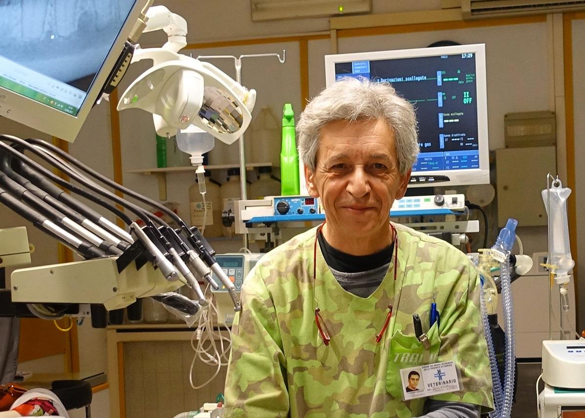 Dr. Paolo Squarzoni, DVM e Socio fondatore della Società Italiana di Odontostomatologia Veterinaria