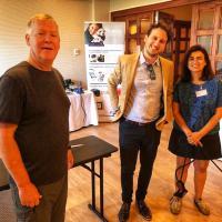 Dr Darryl L. Millis, Alberto Fera and Dr. Diniz - CCRP Spagna 2019