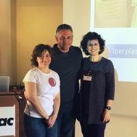 dr. Giovanni Ghibaudo, dr. Antonella Vercelli e dr. Lara Olivieri
