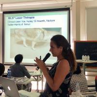 Dr. Roberta Burdisso - Corso MLS presso Affinity Veterinary Center di Taichung