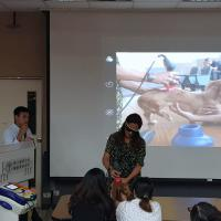 Laserterapia MLS alla National Taiwan University Veterinary Hospital di Taipei