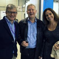 Terruzzi, Area Manager ASA, Dr Millis y Dra. Burdisso