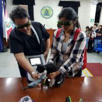 Prova pratica laser Mphi Vet - Universidad Ricardo Palma, Perù