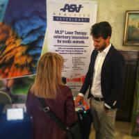 Laser Mphi Vet Orange per animali esotici - SIVAE 2019