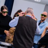 Veterinary laser practical training MLS - UNISVET, Milan